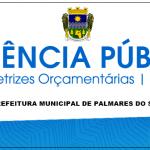 AUDIÊNCIAS PÚBLICAS LDO 2020