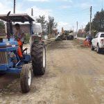 Empresa inicia limpeza com capina e manutenção em Quintão