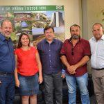 Em visita à Secretaria de Obras do Estado, Prefeitura busca parceria para retomar concessão de loteamento popular
