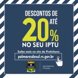 Calendário de arrecadação do IPTU 2021